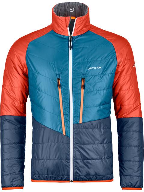 Ortovox M's Piz Boval Jacket Grey Blend